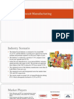 Biscuit Manufacturing Industry