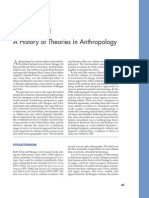 Appendix 1 a History of Theories in Anthropology
