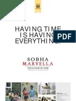 Sobha Marvella Brochure