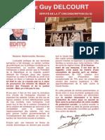 Newsletter Guy Delcourt, Député