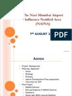 Navi mumbai airport Revised NAINA Presentation