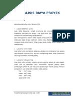Analisa Biaya Proyek - Ir. Muji Indarwanto