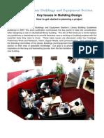 Key Issues in Building Design En