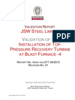 Validation Report JSW TRT-4 Revision 02 Clean