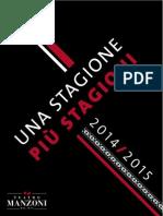 Cartella Stampa Stagione 2014-15