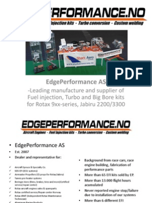 Presentation EdgePerfomance Gonzo Av  2014 | Turbocharger