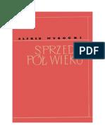 Wysocki, Alfred - Sprzed Pół Wieku – 1956 (Zorg)