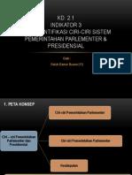 Ciri Pemerintahan Parlementer Dan Presidensial