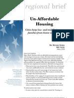 Un-Affordable Housing