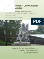 Opening New Lines of Communication in Applied Linguistics BAAL Proceedings_2013