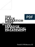 Wilderson - Black Liberation Army & the Paradox of Political Engagement (2013) - READ