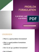 problemformulation1-100913110157-phpapp01