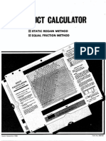 Duct Calculator Manual