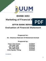 ANALYSIS ON FINANCIAL STATEMENT.doc