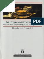Giannini Humberto - La Reflexion Cotidiana - Hacia Una Arqueologia de La Experiencia