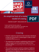 EABCT 2014 An Empirical Test of a Metacognitive Model of Craving