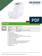 Fabricador de Pan Bm 3990