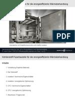 """Vortrag über """"Kohlenstoff-Faserbauteile für die energieeffiziente Wärme-Behandlung""""."""