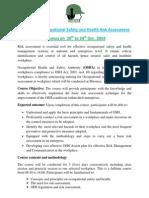 Risk Assessment Mwanza Oct 2014