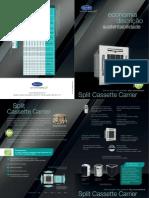 Catálogo Cassete R410A