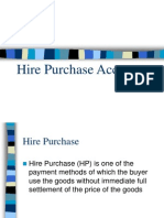 Hire Purchase Accounting