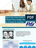 Spurring Innovation Through Global Knowledge Management at Procter