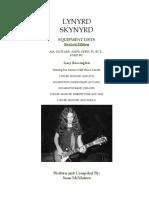 Lynyrd Skynyrd - Gary Rossington Equipment History