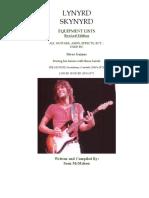 Lynyrd Skynyrd - Steve Gaines Equipment History