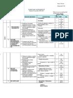 Planificare biologie VIII-A semestrul I 2014-2015