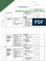 Planificare  Biologie Clasa a v-A semestrul I 2014-2015