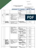 Planificare Biologie a VI-A  semestrul I 2014-2015