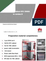 Upgrading Cabinet BTS 3900A to Version D V2 20140421