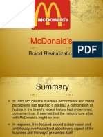 McDonalds brand