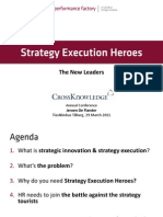 Strategy Execution Heroes - Slide