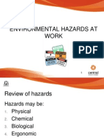 Environmental Hazards at Work