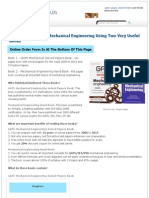 Score Well in GATE Mechanical Engineering Using Two Very Useful Books _ CareerShop