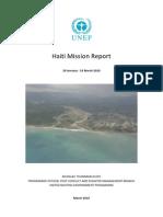 Haiti Unep Mt Mission