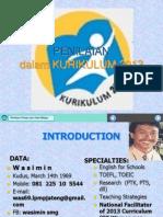 Format Penilaian K2013