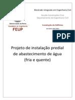 Memória descritiva_Dimensionamento de rede de abastecimento de água .pdf