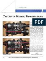 Theory of Manual Transmissions