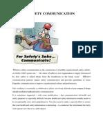 Safety Communication2