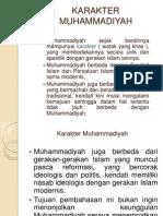 KARAKTER MUHAMMADIYAH