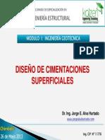 3. Diseño Cimentaciones Superficiales