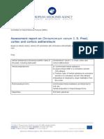 European Medicines Agency, 2011, Assessment Report on Cinnamomum Verum J. S. Presl, Cortex and Corticis Aetheroleum