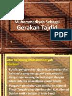 6-Muhammadiyah Sebagai Gerakan Tajdid