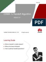CDMA 1x Handoff Algorithm