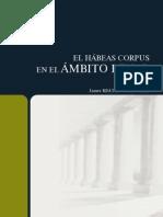 El Hábeas Corpus en El Ámbito Penal