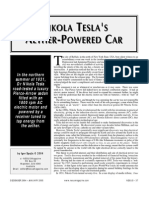1931 Tesla Electric Car