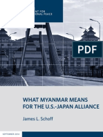 What Myanmar Means for the U.S.-Japan Alliance