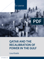 Qatar and the Recalibration of Power in the Gulf